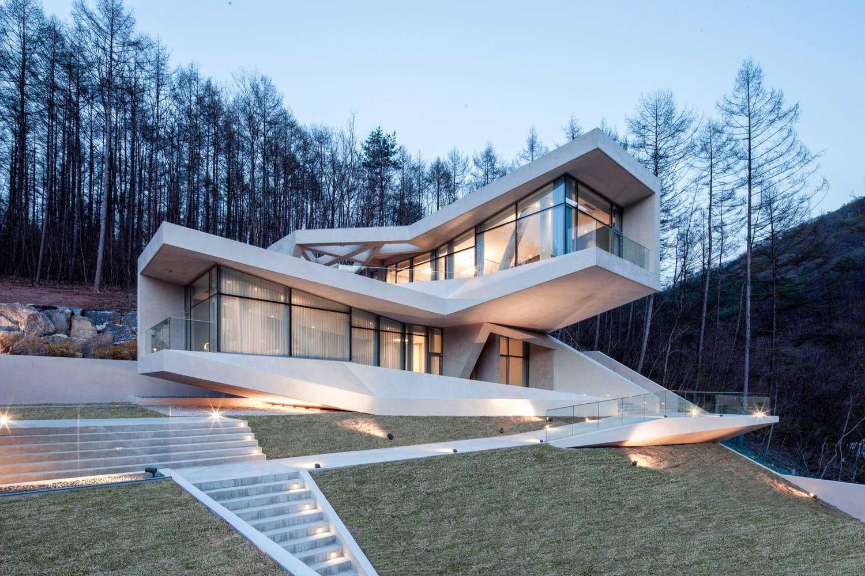 vivienda unifamiliar moderna